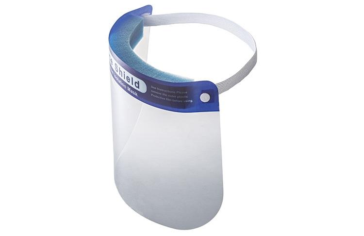 山崎産業 フェイスシールド 200枚セット - メガネの上から装着可能 (1)